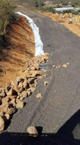 Rock, gravel supply, earth moving contractor, Urban Earthmoving, Perth Foothills